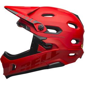 Bell Super DH MIPS Helmet matte/gloss crimson/black